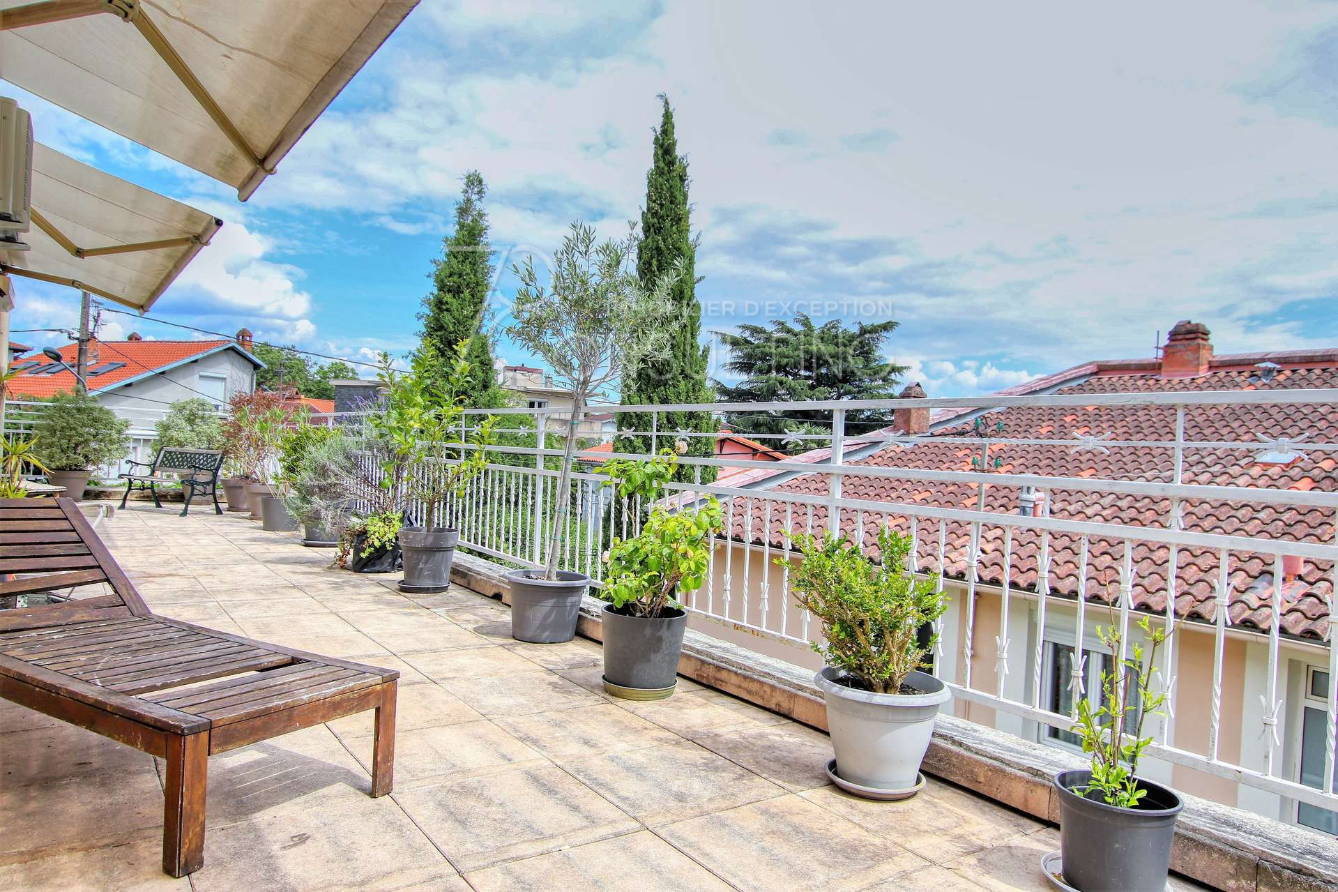 VENTE TOULOUSE APPARTEMENT TERRASSES